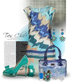 """""""Tres Chic"""" by renee-switzer ❤ liked on Polyvore"""