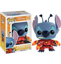 Lilo and Stitch - Stitch 626 Pop! Vinyl Figure  Check out this Stitch 626 Pop! Vinyl from the awesome Disney movie Lilo & Stitch. Brought to you by Pop In A Box, the site Funko Pop! Vinyl shop