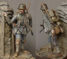 Stormtrooper, 1918 | Figures | Gallery on Diorama.ru