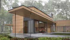 An interdisciplinary studio designed by Charles Rose Architects for The MacDowell Colony that integrates the architecture with the landscape Colonial, Architects, Landscape, Studio, Rose, Outdoor Decor, Design, Home Decor, Art