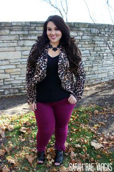 The Leopard Lookbook | Plus Size Fashion |