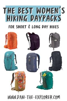 Looking for the best hiking backpacks for your next adventure? Check out this round up of daypacks for women! Hiking Gear Women, Go Hiking, Hiking Tips, Best Hiking Backpacks, Kayak Fishing, Saltwater Fishing, Hiking Photography, Kayaking Gear, Camping Accessories