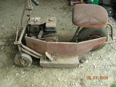antique mower  | Help indentify 3 wheel vintage lawn mower