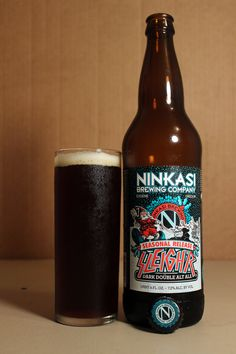 NINKASI BREWING COMPANY SLEIGH'R DOUBLE ALTBIER!!!