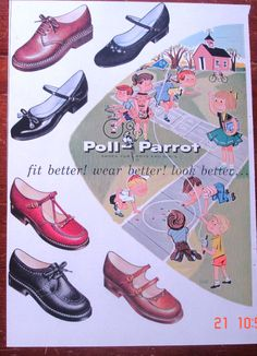 """Poll Parrot Shoes where we'd go for our """"church"""" shoes."""
