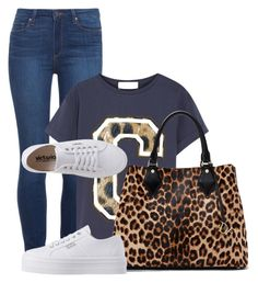 """""""Untitled #306"""" by beautifully-ambitious ❤ liked on Polyvore featuring Paige Denim, Être Cécile, Diane Von Furstenberg and Victoria"""