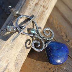 Lapis Lazuli, Labradorite & Sterling Silver