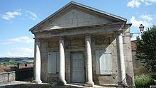 L'orangerie du château de Champlitte.