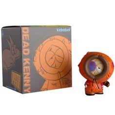 Kidrobot South Park Dead Kenny 3 inch Figurine Orange Brown | eBay