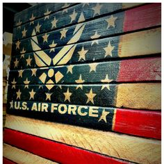 """New military flag just listed to honor the men and women of the United States Air Force. Two sizes available. 36"""" and 48""""."""