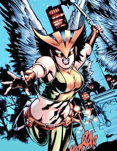 Hawkgirl in Hawkman #44 (2005)