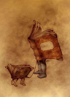 Of such owner, such pet / De tal dueño, tal mascota (ilustración de Óscar Sanmartín) #libros