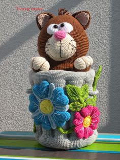 Anne's Crochet Palace: Cats I