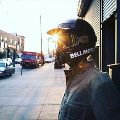 The Bell Moto 3 is a re-release of a helmet model of the same name from almost 40 years ago. It was one of the most iconic helmets Bell or any company ever produced—and now it's back. Motorcycle Style, Motorcycle Outfit, Retro Motorcycle, Casque Bell, Bell Moto 3, Simpson Helmets, Dirt Bike Helmets, Gs500, Bell Helmet