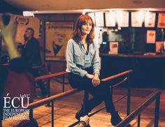 #rebeccacalder interview for #lovemedo #ÉCU #écuindependentfilmfestival2016 #bestactressaward