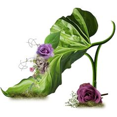 <3  Fairy slipper, by Michel Tcherevkoff The impossible shoe! Love it.  Faerie: Something Rich and Strange
