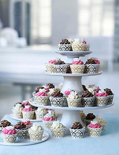 54 Mini Cupcakes (Assorted) (Wedding) M and S