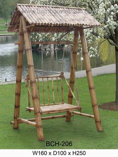 24 Spectacular DIY Bamboo Projects & Uses In Garden Bamboo Art, Bamboo Crafts, Bamboo Garden, Bamboo Fence, Garden Web, Bamboo Furniture, Garden Furniture, Furniture Buyers, Bamboo House Design
