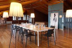 #Bio chair, designed by Josep Lluscà, at the Cristóbal Balenciaga Museum. In Getaria, Guipúzcoa (Spain).