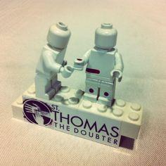 New-member gift at St. Thomas the Doubter Church (Dallas, TX).