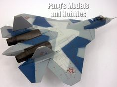 Sukhoi PAK FA T-50 (Russian Stealth Fighter) 1/72 Scale Diecast Metal Model by Air Force 1