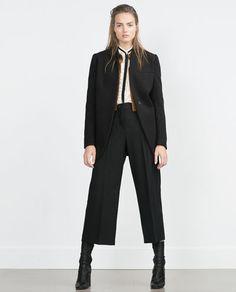 Image 1 of MENSWEAR COAT from Zara