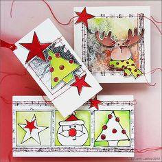 BSP0638 Bundelset Kerstkaarten special foto 1 Shadow Painting, Marianne Design, Stencil, Christmas Cards, Workshop, Playing Cards, Holiday Decor, Paintings, School