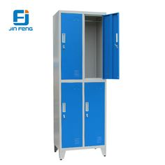 71f57380913 Model JF-2B2A Name 2 Tier Blue Door Colorful Golf Steel KD Storage Middle School  Lockers Product Size H1850 W900 D450mm Package Volume 0.1322CBM