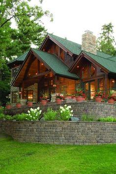 Exterior rustic exterior