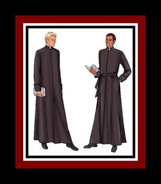 AUTHENTICAL RELIGIOUS  ROBES Sewing by FarfallaDesignStudio