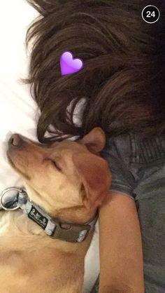 Ariana via snapchat