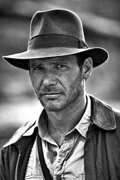 Harrison Ford as Indiana Jones I had a dream that somehow explained how Indianna Jones was Dean and Sam Winchester's Great Grandfather. It oddly made sense. @Jenn L Alcorn