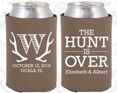 Deer Antler Monogram Fun Wedding Gifts The Hunt by MyWeddingStore