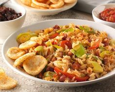 Pittig rijstgerecht met prei en paprika recept