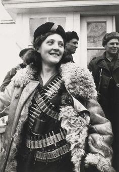French Resistance Fighter, WWII