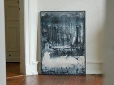 Acrylmalerei - Abstrakte Kunst 70cm x 100cm - ein Designerstück von simeART bei DaWanda