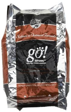 $22.99-$22.99 Go! Dry Dog Food, Natural Wild Salmon and Oatmeal Formula, 8 Pound Bag - Go! Natural's newest diet, featuring 1 novel protein source, 1 novel carbohydrate source, and 1 novel oil source. Created with 35% Wild Salmon, nutritious oatmeal, and essential Omega oils, it is carefully blended to meet exacting standards that will minimize odors, maximize digestibility, and deliver unsurpass ...