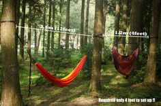 portable camping hammock chair easy setup installation