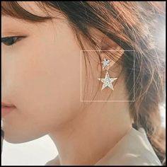 Diamond Earing, Diamond Hoop Earrings, Star Earrings, Cute Earrings, Earrings Handmade, Women's Earrings, Elephant Earrings, Animal Earrings, Ear Jewelry