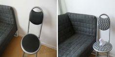 Redecora las sillas viejas con cinta Washi tape. | Mil Ideas de Decoración