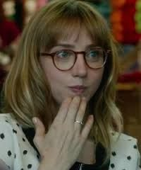zoe kazan glasses in what if - Google Search