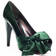 Paris Hilton: Destiny Pump - Green Croc