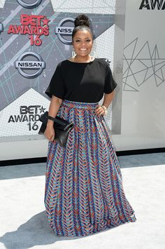 Yvette Nicole Brown at the BET Awards!