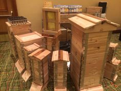 Eco Bee Box beehives at the American Honey Producers Tradeshow 2015