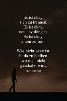 Inspirational sayings about life & Inspirierende Sprüche über das Leben & die Liebe It& okay to split up. It& okay to start over. It& okay to be alone. What is not okay is to stay where you are not valued. Love Quotes For Crush, Best Love Quotes, Quotes To Live By, Unrequited Love Quotes, Motivational Quotes, Inspirational Quotes, Quotes About Everything, School Motivation, Strong Quotes