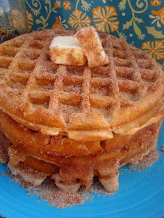 Churro Waffles are Quite Possibly the Best Thing to Happen to Breakfast, Ever