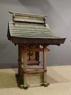 Kamitana Japanese shrine, 1850 - 1899