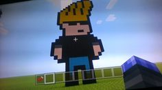 Minecraft Pixel Art Jonny Bravo