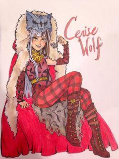 Cerise Wolf by sneakcreeks