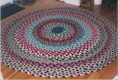 These handmade braided rugs are of new wool and made according to my client's requirements. My custom made braided rugs are hand braided, hand laced, and reversible.